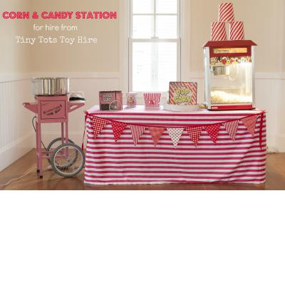 Corn & Candy Station