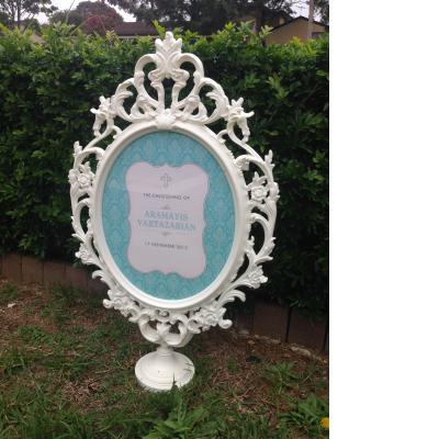Cinderella frame for hire