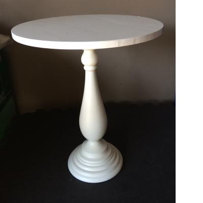 White Wooden Cake Stand - X Tall