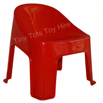 Kids Bubble Chair - Strawberry Red