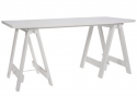 Folding timber table - antique white166.png